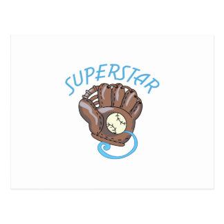 スーパースター ポストカード