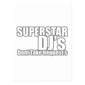 スーパースターDJ ポストカード