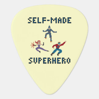 スーパーヒーローのギターピック ギターピック