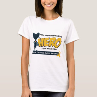 スーパーヒーローの女の子 Tシャツ