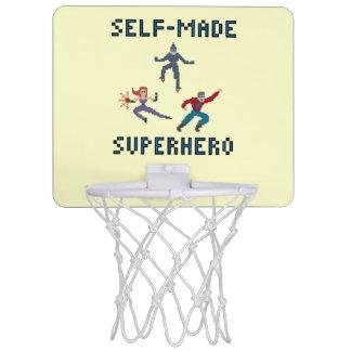 スーパーヒーローの小型バスケットボールたが ミニバスケットボールネット