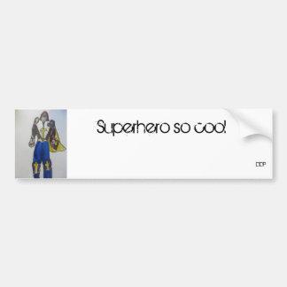 スーパーヒーローの芸術1 バンパーステッカー
