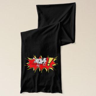 スーパーヒーローのKapow牛 スカーフ