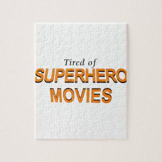 スーパーヒーロー映画に疲れさせている ジグソーパズル