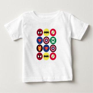 スーパーヒーロー ベビーTシャツ