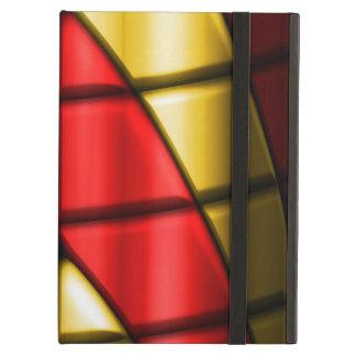 スーパーヒーロー-赤および金ゴールド iPad AIRケース
