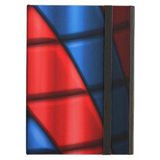 スーパーヒーロー-赤および青 iPad AIRケース