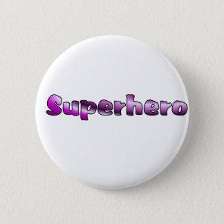 スーパーヒーロー 5.7CM 丸型バッジ