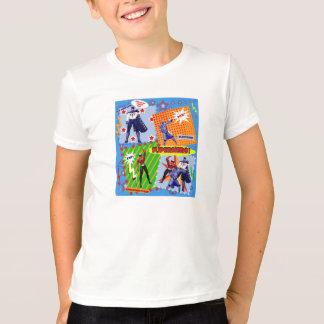 スーパーヒーロー! Tシャツ