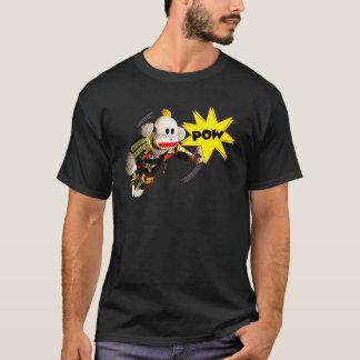 スーパーヒーローSockMonkey Tシャツ