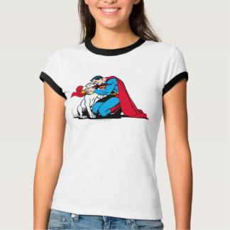 スーパーマンおよびKrypto Tシャツ