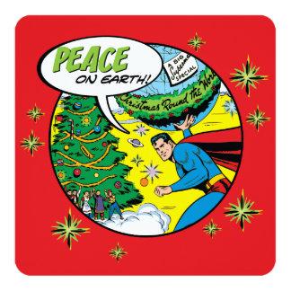 スーパーマンからの地球の平和 13.3 スクエアインビテーションカード
