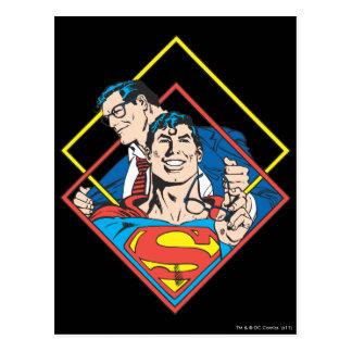 スーパーマンかクラークケント ポストカード