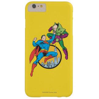 スーパーマンによってはLex Luthorが戦います スキニー iPhone 6 Plus ケース