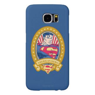 スーパーマンのアメリカ人の英雄 SAMSUNG GALAXY S6 ケース