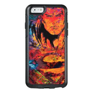 スーパーマンのオレンジグランジ オッターボックスiPhone 6/6Sケース