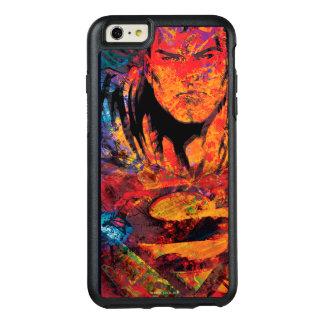 スーパーマンのオレンジグランジ オッターボックスiPhone 6/6S PLUSケース