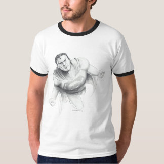 スーパーマンのスケッチ Tシャツ
