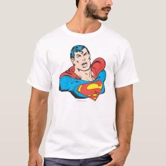 スーパーマンのバスト1 Tシャツ
