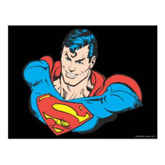 スーパーマンのバスト2 ポストカード