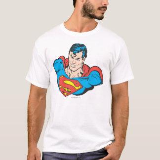 スーパーマンのバスト2 Tシャツ