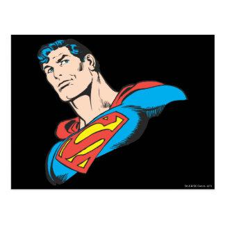 スーパーマンのバスト3 ポストカード