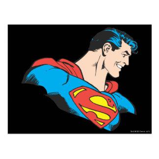 スーパーマンのバスト4 ポストカード