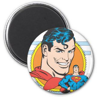 スーパーマンのヘッド打撃 マグネット