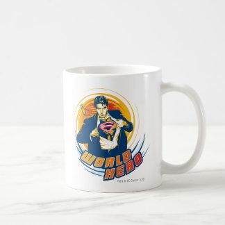 スーパーマンの世界の英雄 コーヒーマグカップ