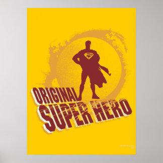 スーパーマンの元の英雄 ポスター