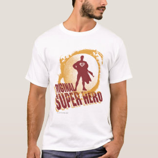スーパーマンの元の英雄 Tシャツ