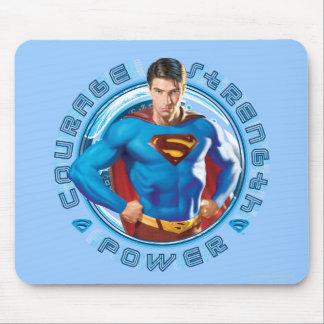 スーパーマンの勇気の強さ力 マウスパッド