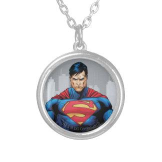 スーパーマンの地位 シルバープレートネックレス