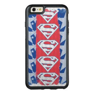 スーパーマンの星およびロゴ オッターボックスiPhone 6/6S PLUSケース