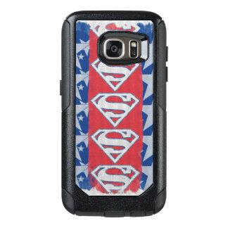 スーパーマンの星およびロゴ オッターボックスSamsung GALAXY S7ケース
