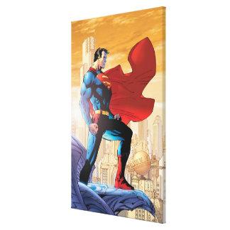スーパーマンの毎日の惑星 キャンバスプリント
