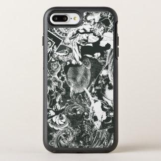 スーパーマンの灰色のコラージュ オッターボックスシンメトリーiPhone 8 PLUS/7 PLUSケース