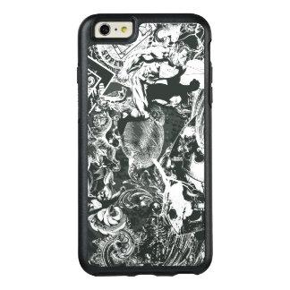 スーパーマンの灰色のコラージュ オッターボックスiPhone 6/6S PLUSケース