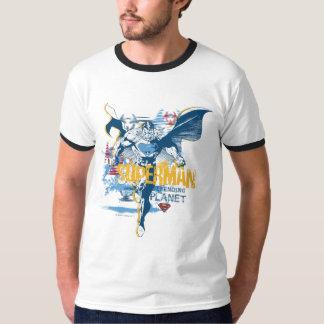 スーパーマンの生物デザイン Tシャツ