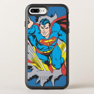 スーパーマンの破損 オッターボックスシンメトリーiPhone 8 PLUS/7 PLUSケース