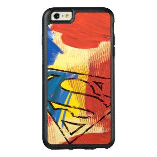 スーパーマンの色彩の鮮やかなロゴ オッターボックスiPhone 6/6S PLUSケース