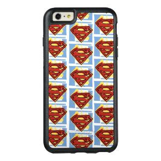 スーパーマンの赤くおよび青パターン オッターボックスiPhone 6/6S PLUSケース