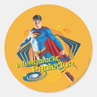 スーパーマンの銀河系間保護装置 ラウンドシール