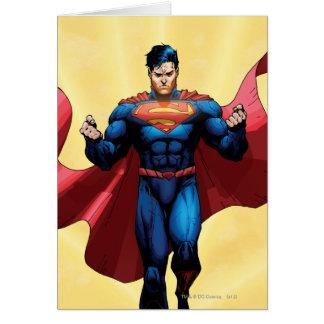 スーパーマンの飛行 グリーティングカード