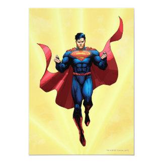 スーパーマンの飛行 12.7 X 17.8 インビテーションカード