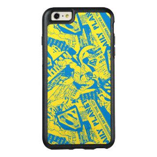 スーパーマンの黄色および青 オッターボックスiPhone 6/6S PLUSケース