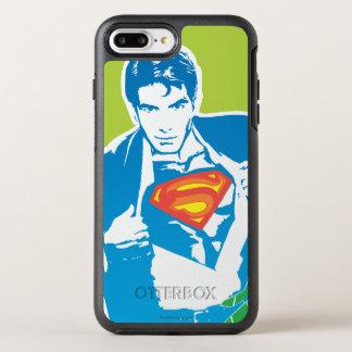 スーパーマンの80年代のスタイル オッターボックスシンメトリーiPhone 8 PLUS/7 PLUSケース