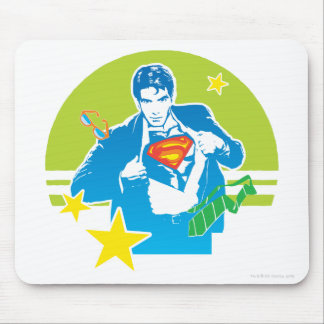 スーパーマンの80年代のスタイル マウスパッド