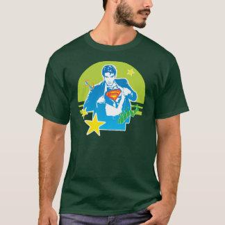 スーパーマンの80年代のスタイル Tシャツ