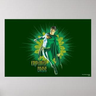 スーパーマンのKryptoniteの危機 ポスター